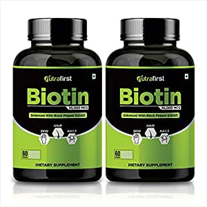 Buy Nutrafirst Biotin For Hair Growth Improve Skin And Strengthens