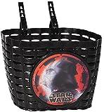 alles-meine.de GmbH Fahrradkorb / Korb -  Star Wars - Darth Vader  - mit Befestigung für Lenker vorne - Fahrrad Kinder - Jungen - universal auch für Roller und Dreirad Laufrad ..