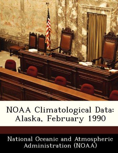 NOAA Climatological Data: Alaska, February 1990