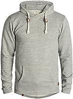 REDEFINED REBEL Mosi Herren Kapuzenpullover Hoodie Sweatshirt aus 100% Baumwolle Meliert