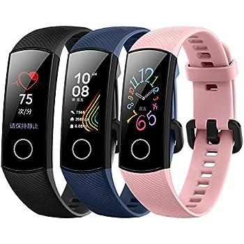 Huawei 55022283 Band 2 Pro Smartwatch schwarz: Amazon.de