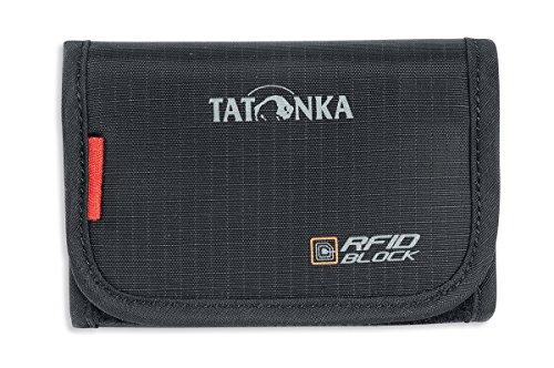 Tatonka Unisex- Erwachsene Geldbeutel Folder RFID B, black, 9 x 12 x 2 cm