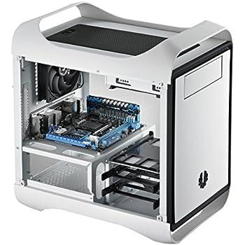 BitFenix BFC-PRO-300-WWXKW-RP Mini-Tower White computer case - computer cases (Mini-Tower, PC, Plastic, Steel, Mini-ITX, White, Home/Office)