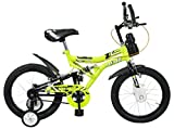 #9: Mad Maxx Shocker Steel Single Speed Kids' Road Cycle, 16 Inches (Green)