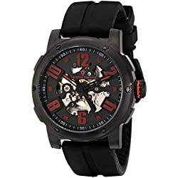 Christian Van Sant Herren cv6133 Skelett Analog Display Automatische selbst wind black watch