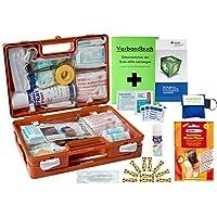 WM-Teamsport Sport-Sanitätskoffer Plus 4 Erste-Hilfe Koffer DIN 13157 + Sporttape, Sprühpflaster, Wärme+Kälte-Behandlung preisvergleich bei billige-tabletten.eu