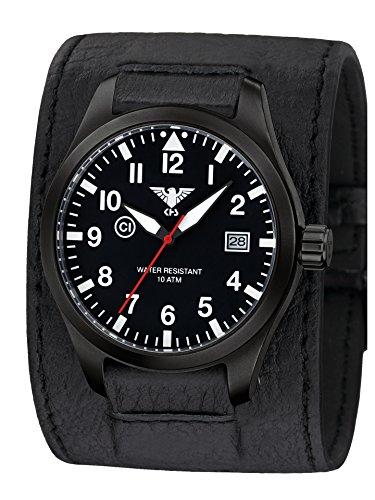 KHS Reloj Hombre Airleader Black Steel KHS.AIRBS.LK