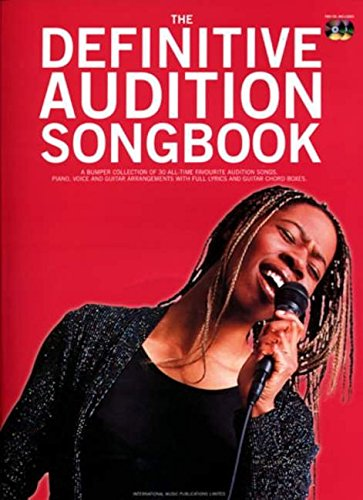 Definitive Audition Songbook: Piano/vocal/guitar (Voice and Piano)