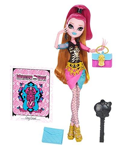 Monster High-Scare Mester - Poupée Deluxe Gigi Grant, Fille du Génieavec Accessoires