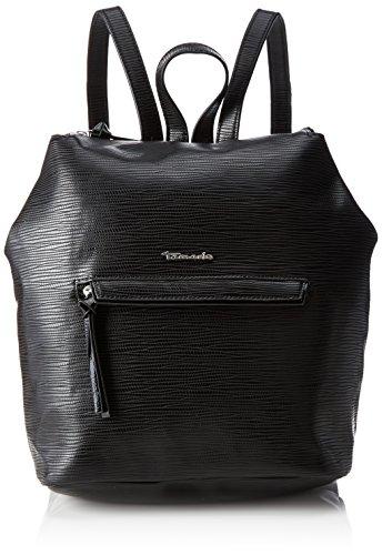 Tamaris Damen Babette Backpack Rucksackhandtasche, (Black Comb.), 7x30x34 cm