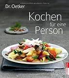 Kochen für eine Person