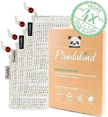 Pandakind [4x] Sisal Seifensäckchen-Bekannt