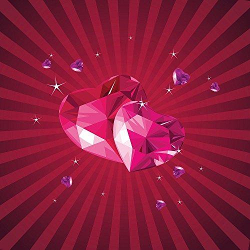 Apple iPhone 4 Housse Étui Silicone Coque Protection C½ur Amour Amour Étui en cuir bleu marine