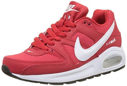 Nike Mädchen Air Max Command Flex Gs Gymnastikschuhe, Rot (Univ Red/white/black), 38 EU