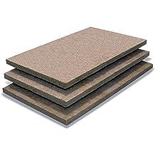 Paneles de lana de roca densidad 75 grosor 6 cm fibrangeo fibran