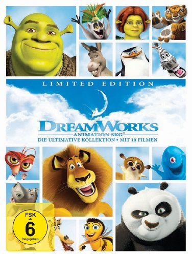 Dreamworks 10 Movies Collection (Limited Edition, exklusiv bei Amazon.de) (Ab Durch Die Hecke Film)