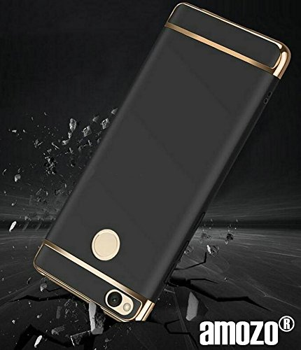 Xiaomi Redmi 4 Cover - Amozo® DUAL LAYER All Sides Protection \