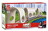 Hape E3711 Railway Spielzeug-Dreifach-Tunnel