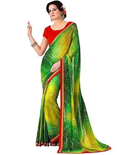 Lajree Designer Women\'s Clothing Kanjivaram Saree Latest Party Wear Design Free Size Saree With Blouse Piece(Sarees for women latest design sarees new collection 2018 sarees below 1000 rupees sarees