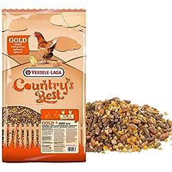 FINCA CASAREJO Pienso gallinas. Gold 4 Mini Mix 5 kg Versele Laga. Combinado Cereal y pienso en Pellet.