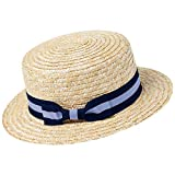 ArtiDeco Panama Hut Fedora Trilby Bogart Hut Herren Storhhut 1920 Stil Mafia Gangster Gatsby Kostüm Accessoires (Blau)