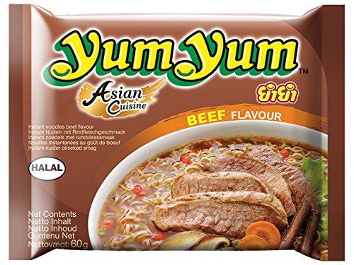 Yum Yum Nouilles Instantanées Boeuf 30 x 60 g