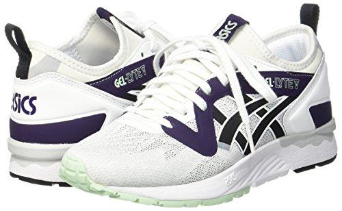 Bianco 47 EU Asics Gel Lyte V NS Sneaker Unisex Adulto White/Black rhg