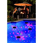 UKayed ® Amazing Go Anywhere Light Disco ball Party lights special effects Waterproof NEW