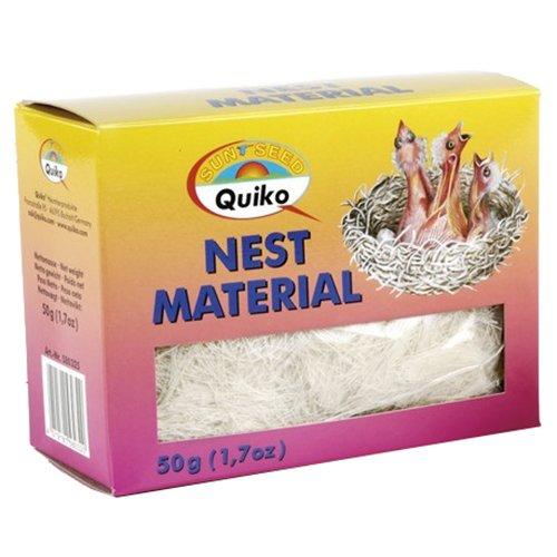 Quiko 111110 Nestmaterial, 50 g, naturell