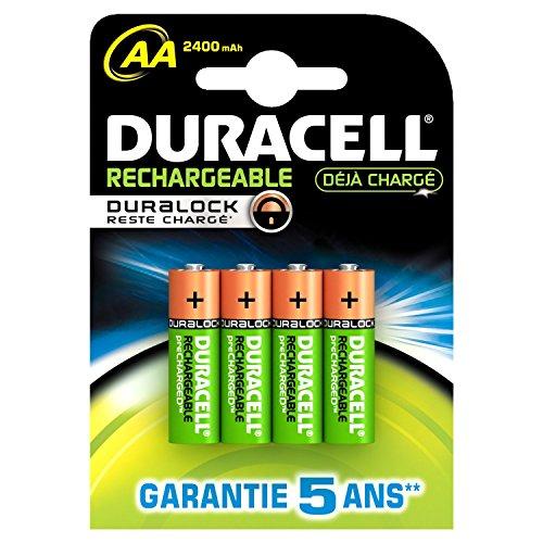 Duracell Pre Charged Wiederaufladbare AA-Batterien 2400mAh-8Stück - Duracell Pre-charged