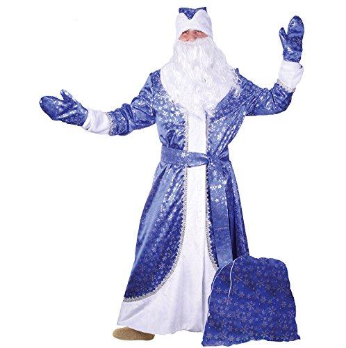 Ded Moros (Weihnachtsmann) Kostüm aus Samt (Kostüm Ideen Russische)