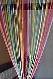 #8: Handloomwala Multi Color String Curtain