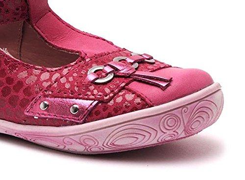 Babybotte Shouette, Chaussures de ville fille Fuchsia