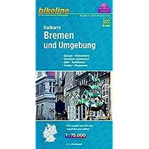 Bikeline Radkarte Bremen 1:75 000