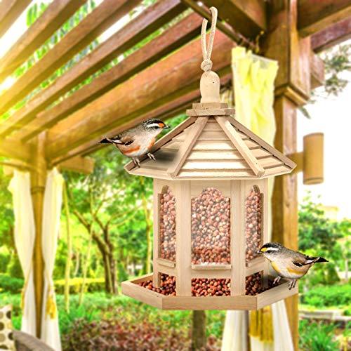 Saingace(TM) Hängende Futterstation, wasserdichte Vogelfutter Futterspender Vogel Fütterung Vogel Futterhaus für Wildvögel Vogelhaus, Vogelfutterstation, Futterhaus, Vogelhäuschen