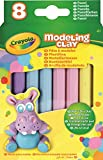 Crayola - 57-0311-E-000 - Pack de 8 bâtons Modeling Clay - Pastelle