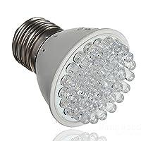 Plant Grow Lights VBWER E27 38LED 1.9W Plant Grow Light Bulb Garden Indoor Hydroponic Lamp 220V White