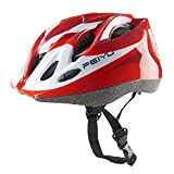 Babimax Kinder Fahrradhelm Jugend Skifahren Sicherheit Schutzhelm Mountainbike (Rot)