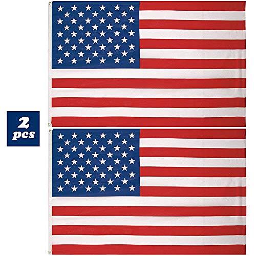 Serwoo 150cm * 90cm 2pz bandiera americana bandiere america usa stati uniti per eventi sportivi