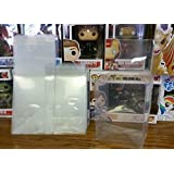 FUNKO 4 POP PROTECTOR ACID FREE CRYSTAL CLEAR CASE 10-PACK by Toy Shed