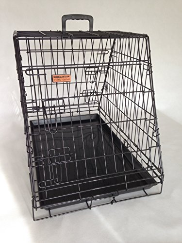 doghealth Car Cage with escape hatch 2 Doors GYC03P 1