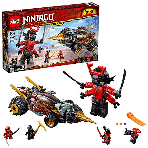 LEGO 70669 Ninjago Legacy Cole's Earth Driller Building Kit, Colourful Best Price and Cheapest