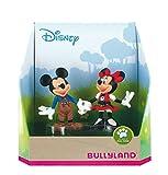 Bullyland 15081 - Spielfigurenset, Walt Disney Mickey Bayern - Mickey in Lederhose und Minnie im Dirndl