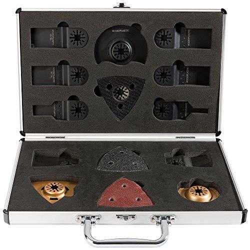 34-tlg Multifunktionswerkzeug Zubehör Set Multitool im Koffer