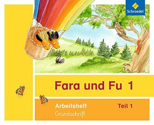 Fara und Fu - Ausgabe 2013: Arbeitshefte 1 und 2 GS (inkl. Schlüsselwortkarte)