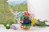 Handgemachte dekorative Blumen aus Glasperlen fur Haus und Arbeitsraum Dekoration