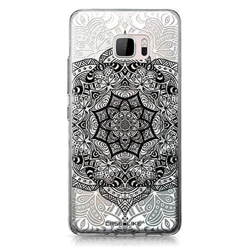 CASEiLIKE® HTC U Ultra Hülle, HTC U Ultra TPU Schutzhülle Tasche Case Cover, Mandala-Kunst 2097, Kratzfest Weich Flexibel Silikon für HTC U Ultra