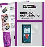 dipos I 3X Schutzfolie klar passend für Bosch Professional GLM 50 Folie Displayschutzfolie