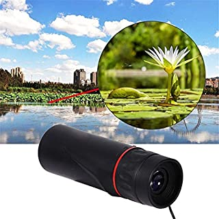 30x25 High Powered Dual Focus Portable Monocular Telescope Outdoor Handheld Ultra Monocular Scope for Hunting Camping Birdwatching