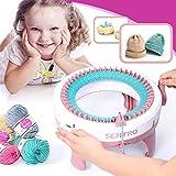Strickmaschine Kinder Stricken Kit Smart Weaver Weben Webstuhl Spielzeug DIY Schal Hut Socke Pädagogisches Spielzeug